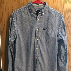 Men's American Eagle classic fit button down shirt